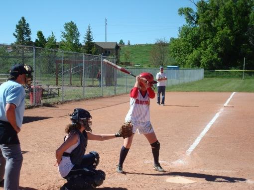 Huh up to bat.