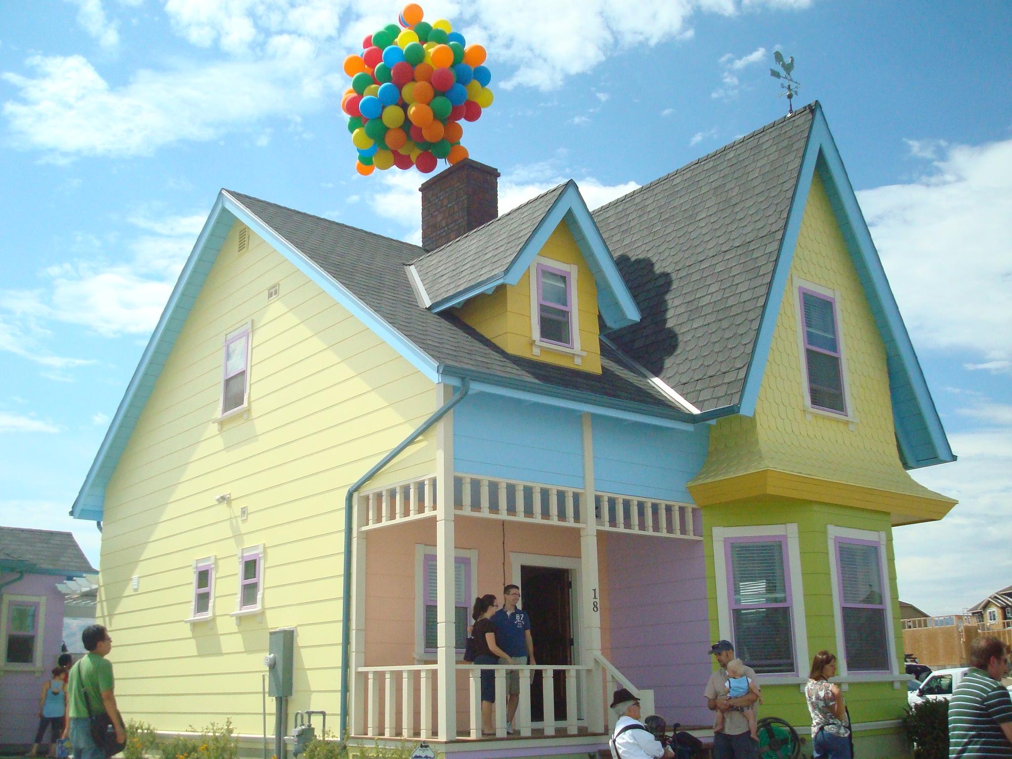 The up house has landed in utah kweenmama 39 s kastle for Utah house